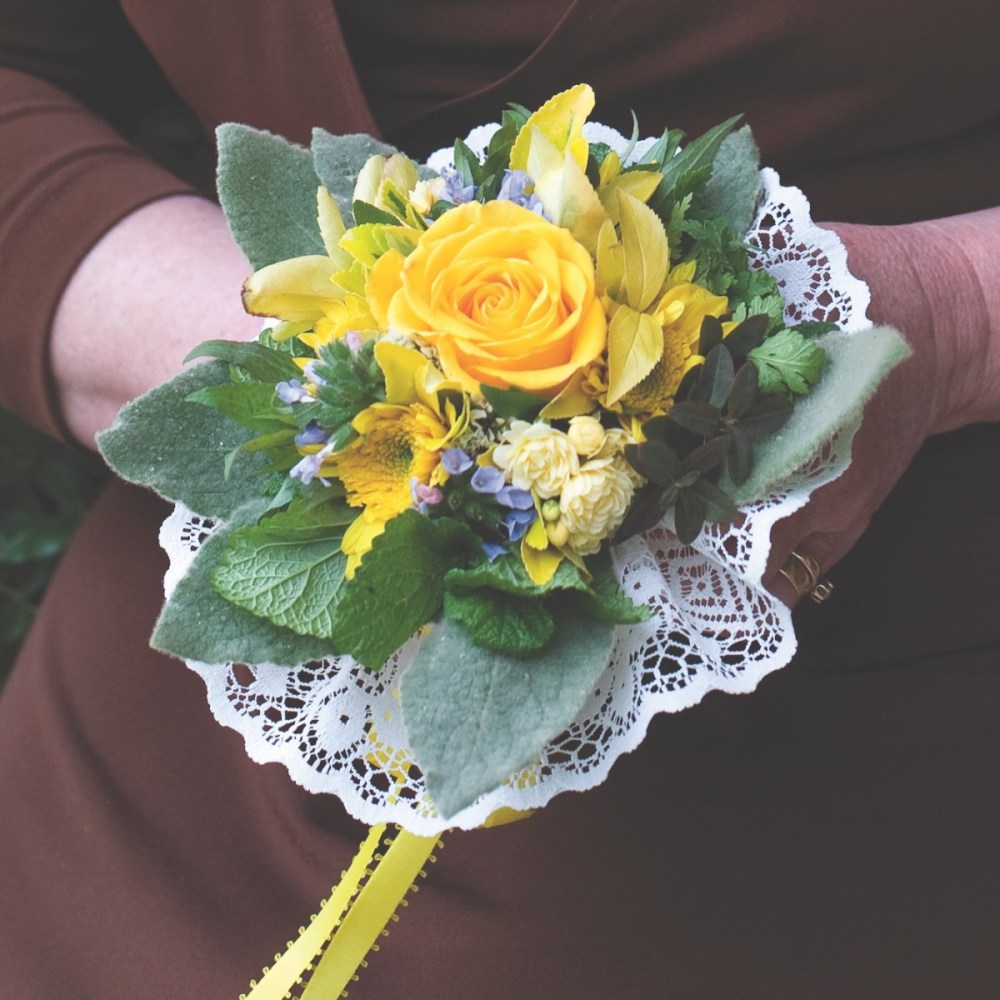 How To Make A Tussie Mussie Bouquet Flower Magazine
