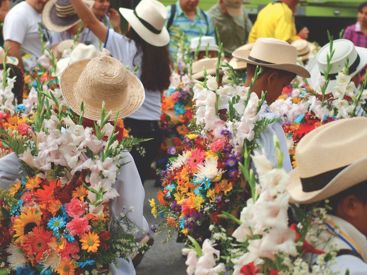Colombias Feria De Las Flores Festival Of The Flowers Flower