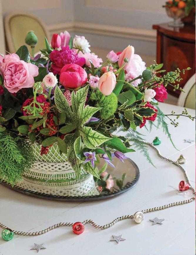 cathy graham, christmas arrangement