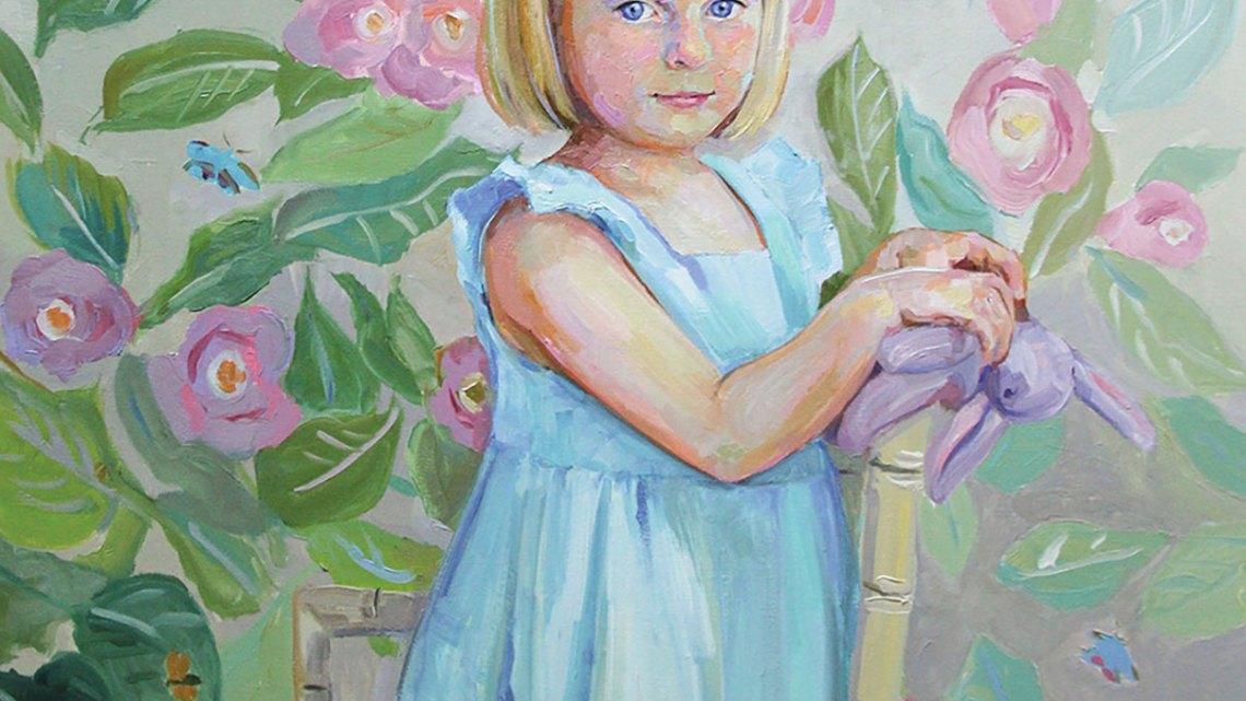 Liz Lindstrom painting