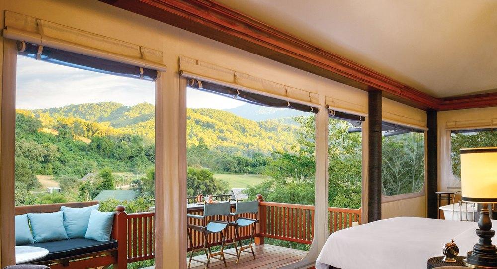 Luang Prabang Resort, Hilltop_Tent