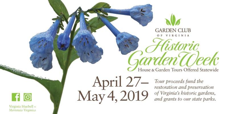 historic garden week ticket discount