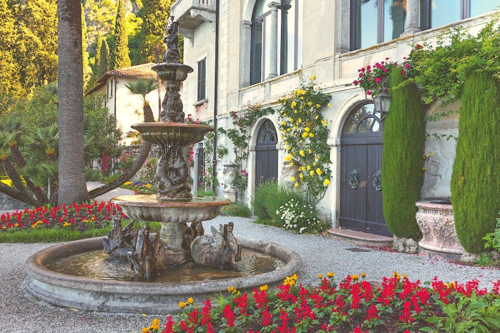 Lake Como gardens, Villa Monstero