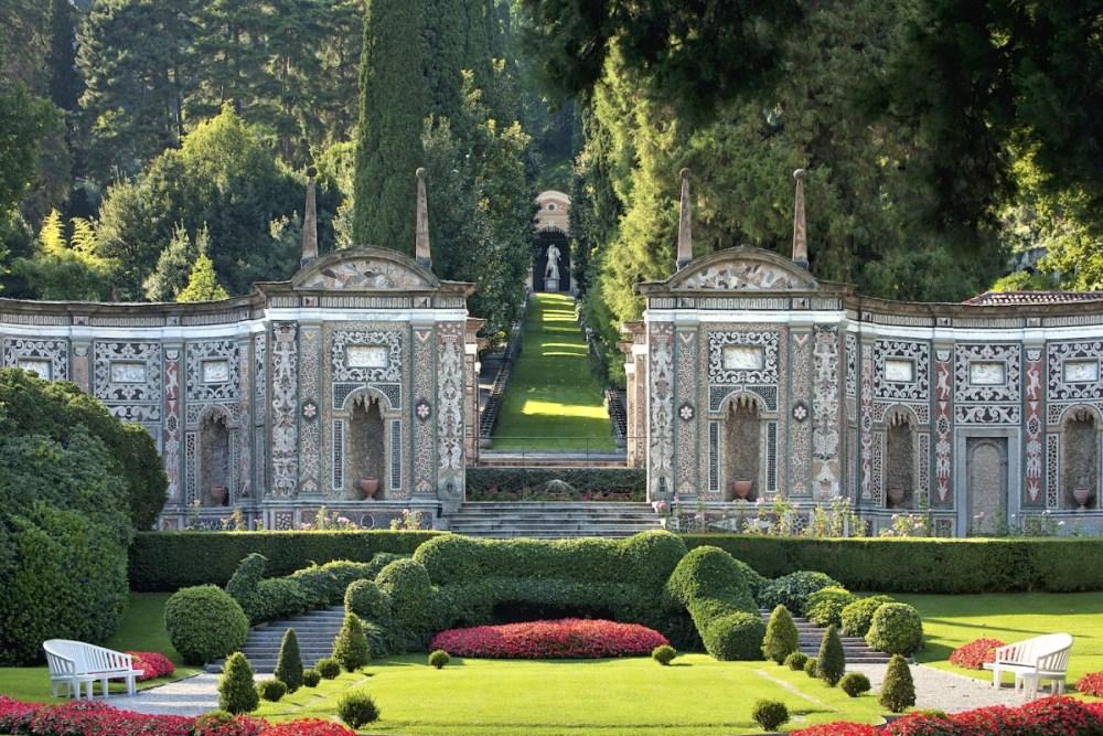 lake como gardens, Villa d'Este