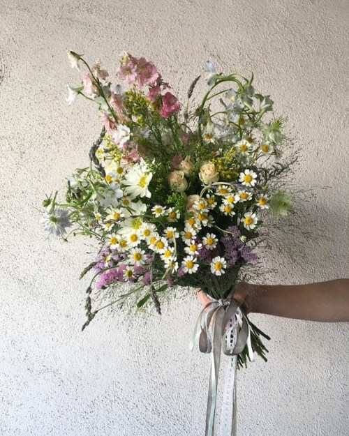 Wildflower bouquet created by Marisa Bosquez-White for Big LIttle Lies Season 2
