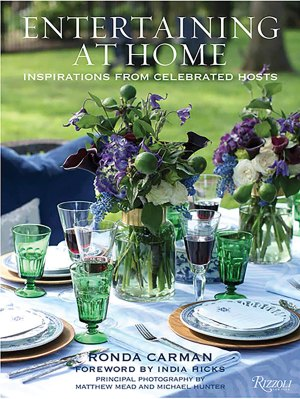 Book cover for Entertaining at Home by Ronda Carman