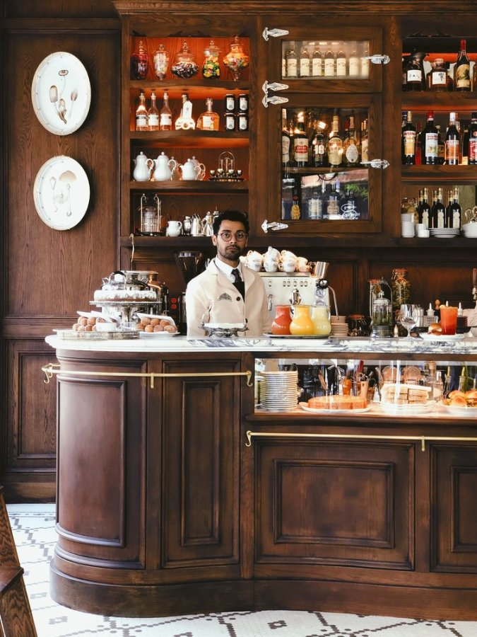 favorite New York coffee shop, Bar Pisellino.