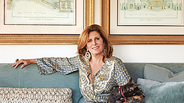 Lisa Fine, textile designer and author of Near & Far (Vendome)