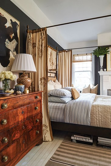 bedroom interior design by William McLure