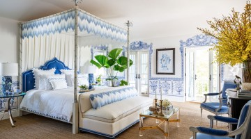 Kips Bay Palm Beach Show House 2020 - master bedroom