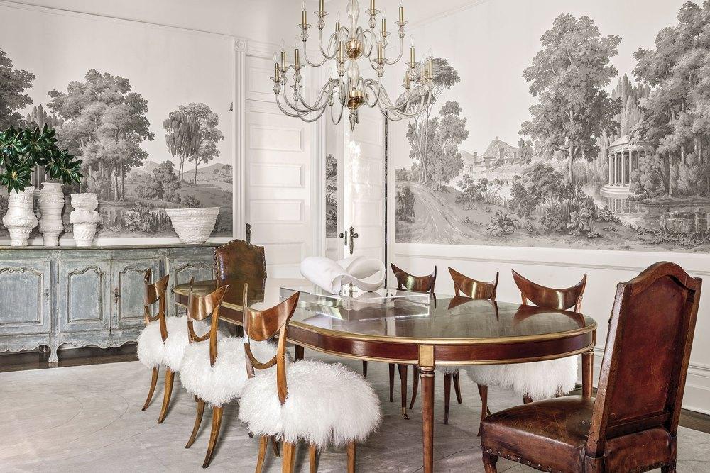 dining room designed by Tara Shaw