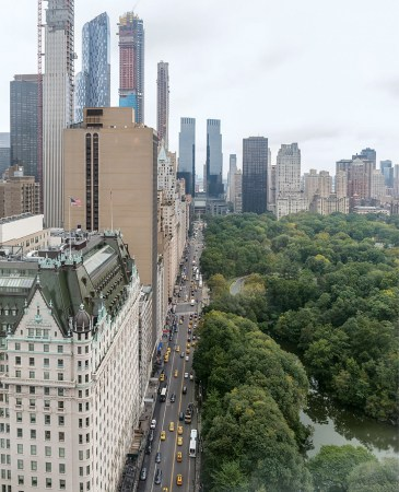 New York City high-rise view