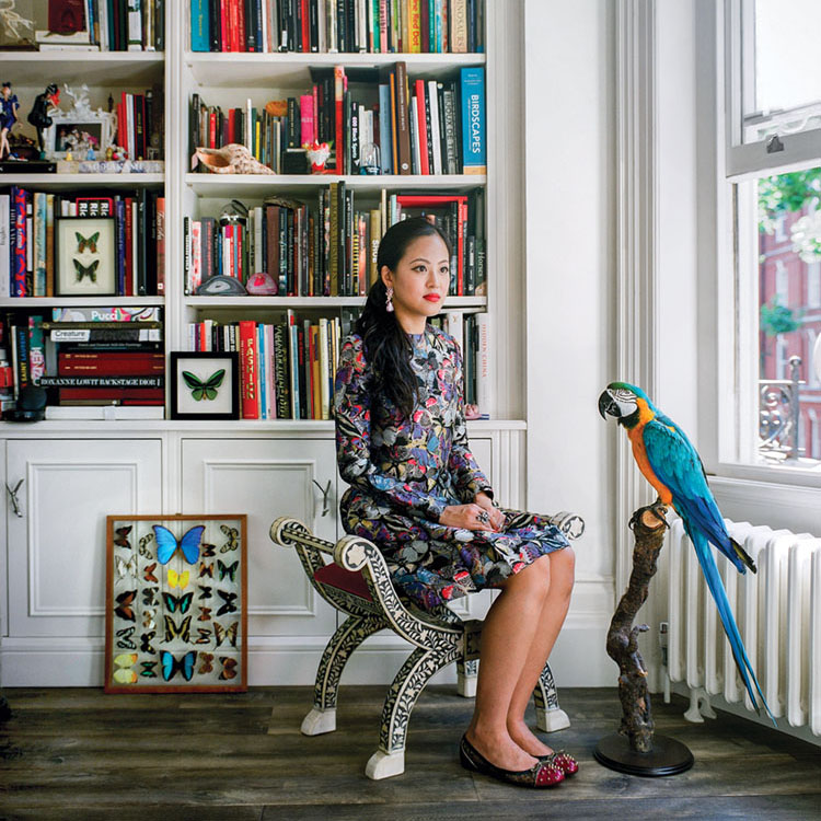 portrait of jewelry designer Anabela Chan