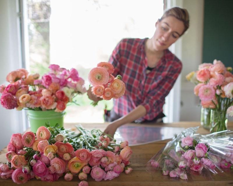 flower farmer Erin Benzakein