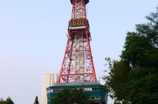 【熱血背包女】2014夏‧北海道家族之旅 DAY1 台灣→札幌 大通公園、吃螃蟹本家