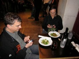 Smartphones With A Little Dinner