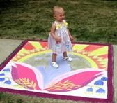 future generations sidewalk art and child