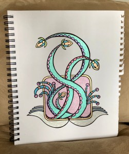 sketchbook design color