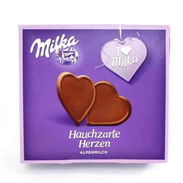 Milka Hauchzarte Herzen 130g