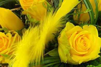 Blumenzustellung kontaktlos
