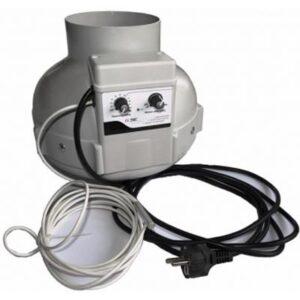 Estrattore Prima Klima - RVKS 125mm + Controller GSE