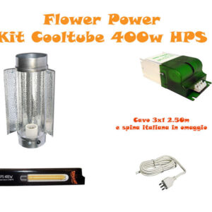 Kit Cooltube HPS 400W Fioritura BASE