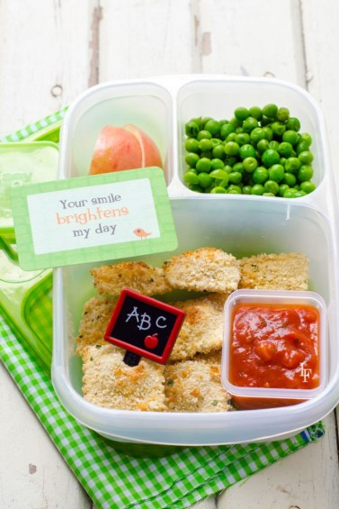 Baked Ravioli - School Lunch Image