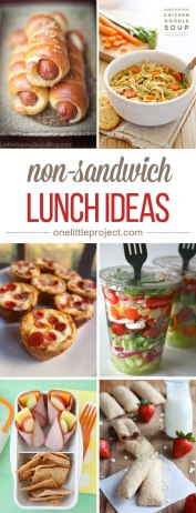 35 Non-Sandwich Lunch Ideas Image