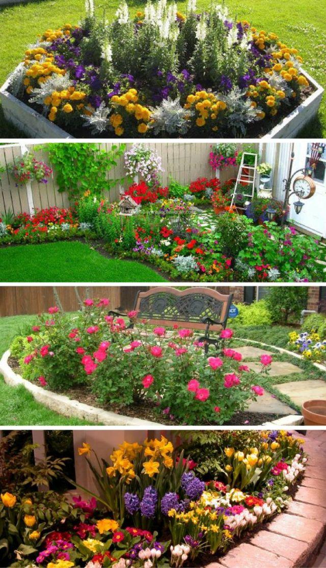 perennial flower beds