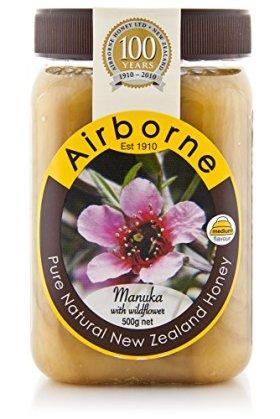 Airborne – Manuka Honey – Manuka with Wildflower – 500g