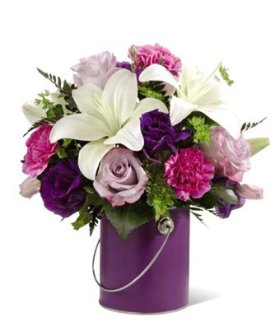 Flowers – The Color Your Day With Beauty Bouquet by FTD