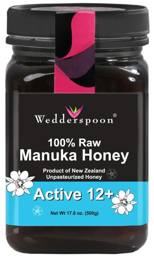 Wedderspoon 100% Raw Manuka Honey KFactor 12 (17.6 oz)