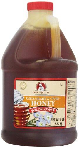 Chef's Quality: Wildflower Honey 5 Lb.