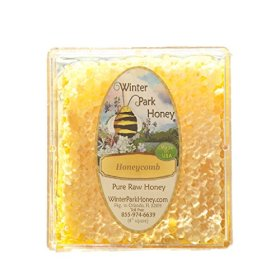 Honeycomb – 4″ Square, Approx. 12 Oz. (Pure Natural Raw)