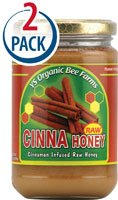 YS Eco Bee Farms Raw Cinna Honey — 13 oz Each / Pack of 2