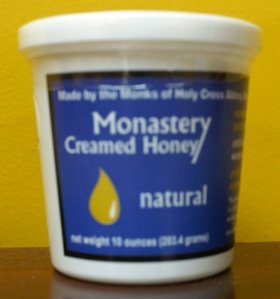 Monastery Creamed Honey – Pure Raw Virginia Honey – 2 Pack (10 oz per container)