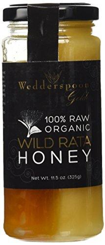 Wedderspoon Gold 100% Raw Organic Rata Honey