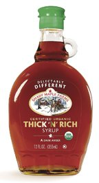 Shady Maple Farms Organic Thick N Rich Maple Syrup, 12 Ounce — 12 per case.
