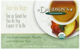 Davidson's Tea French Vanilla, 100-Count Tea Bags