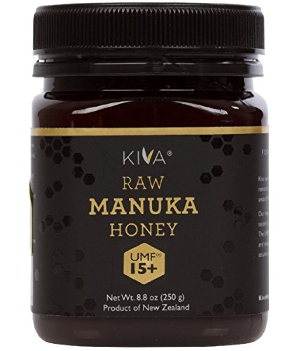 Kiva Certified UMF 15+ – Raw Manuka Honey (8.8 oz) – – LIMITED TIME NEW PRODUCT PRICE!