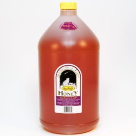 Star Thistle Honey 12 lb. Jug (Gallon) Bulk Honey Unpasteurized Unblended No Additives Pure Michigan Honey