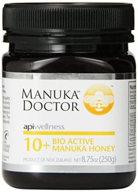 Manuka Doctor Bio Active 10 Plus Honey, 8.75 Ounce