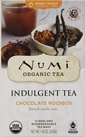 Numi Organic Tea Chocolate Rooibos,  12 Count Tea Bags (Pack of 3)