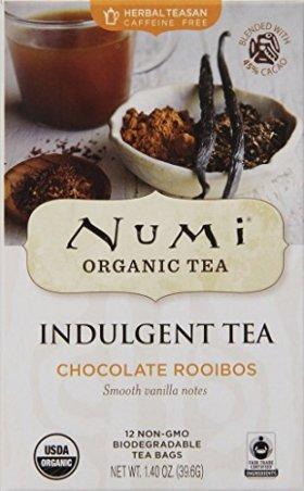 Numi Organic Tea Chocolate Rooibos,  12 Count Tea Bags (Pack of 3)