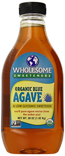 Wholesome Sweeteners Organic Blue Agave Nectar, 36 Ounce