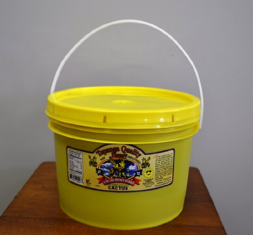 1 Gal (12lbs) Topanga Quality Honey (Cactus Floral Source) Raw, Unfiltered, Unpasturized, Best Quality, All Natural, Kosher