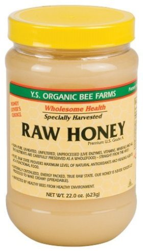 Y.S. Eco Bee Farms Raw Honey – (4 Pk – 22 Ounce Each)