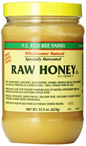 Y.S. Eco Bee Farms Raw Honey – 22 oz (4 Pack)
