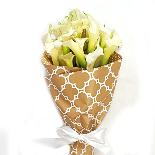 White Calla Lily Bouquet, Callafornia Callas