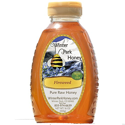 Fireweed Honey 16oz (Pure Natural Raw)